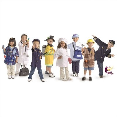 Brand New World Community Helper Dramatic Dress Ups Collection - Set of 8 costumes