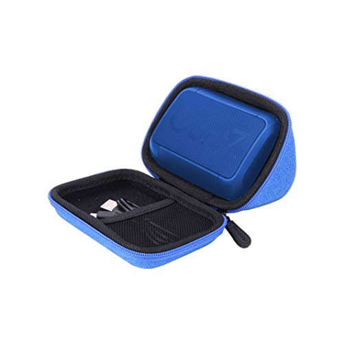 Aenllosi Hard Carrying Case Compatible with OontZ Angle Solo Super Portable Bluetooth Speaker (Blue)