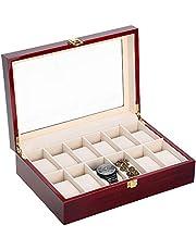 Caja para Relojes de Madera Estuche para Relojes y joyeros (6)