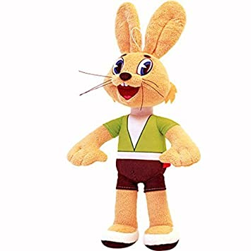 hare zayac nu pogodi sojuzmultfilm soviet cartoon ussr soft plush toy voiced