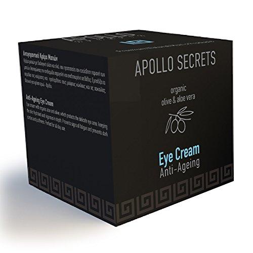 Apollo Secrets Anti Ageing Eye Cream 40ml for Men with or...