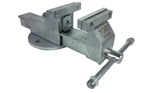 Yost Tools SSV-0406NC Yost 4'' Stainless Steel Vise with Pipe Jaws by Yost Tools