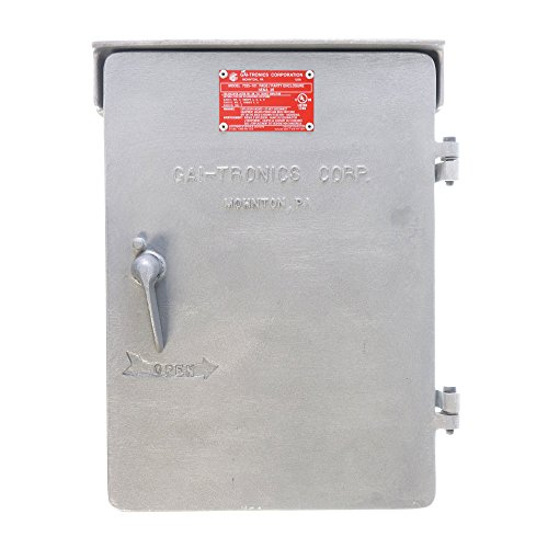 Gai-Tronics 7325-101 Explosion Proof Hazardous Amplfier Enclosure, Aluminum