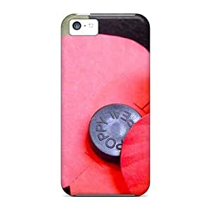 Iphone 5c Case Cover Skin : Premium High Quality Lest We Forget Case