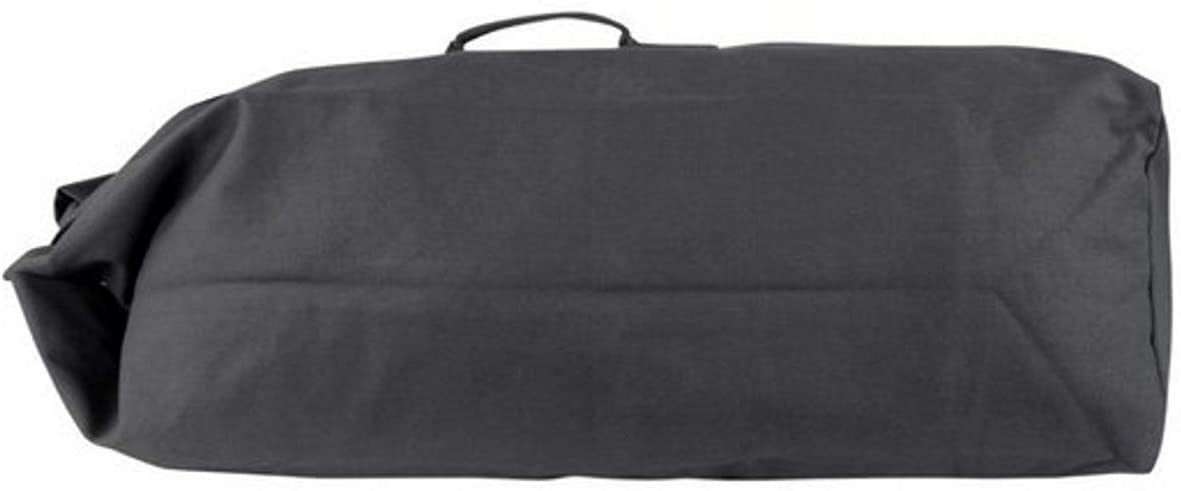 "Farm Blue Top Load Duffle Bag - Extra Large Military Duffel Bags - Heavy Duty Army Grade Cotton Canvas Dufflebags For Men, Women & Kids - XL Front Loading Tactical Gear Sack – 25"" x 42"" - Black"