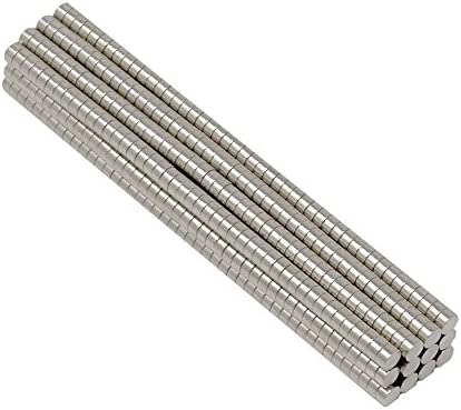 SBS® Neodym Magente | 2 x 1 mm | 100 Stück | Supermagnete mit extremer Haftkraft