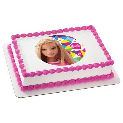 Barbie Sparkle Licensed Edible Cake Topper -