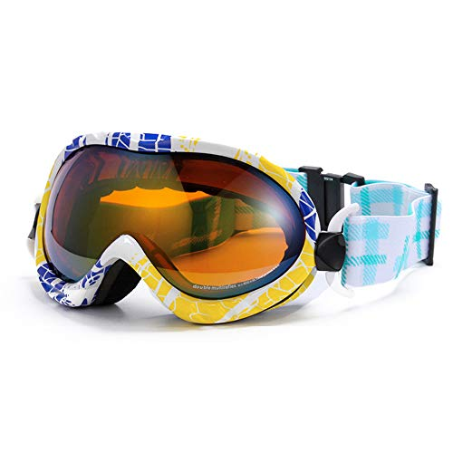 25defcad55 Gafas de esquí, Gafas de snowboard para hombre y mujer adultos- Protección  UV400 y
