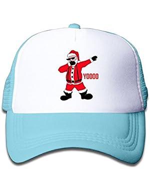 Dabbing Santa Baby Unisex Classic Adjustable Baseball Mesh Hat
