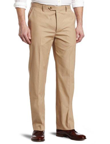 Tommy Hilfiger Men's Trim Fit Flat Front Pant