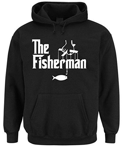 The Fisherman Hooded-Sweater Black Certified Freak