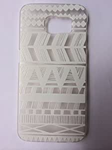 LUOLNH Henna Itzli Mayan Aztec tribal native american indian ethnic Clear Plastic Case Cover for Samsung Gaxaly S6 G9200 by supermalls
