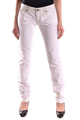 Ezbc056039 Algodon Mujer Jeans Pinko Blanco dtZq5w
