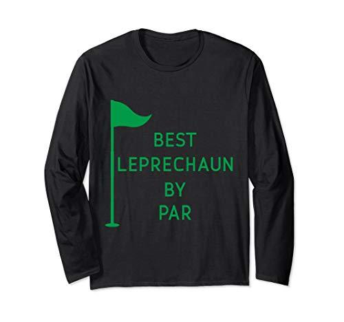 Leprechaun By Par St Patricks Day Golf Long Sleeve T-shirt