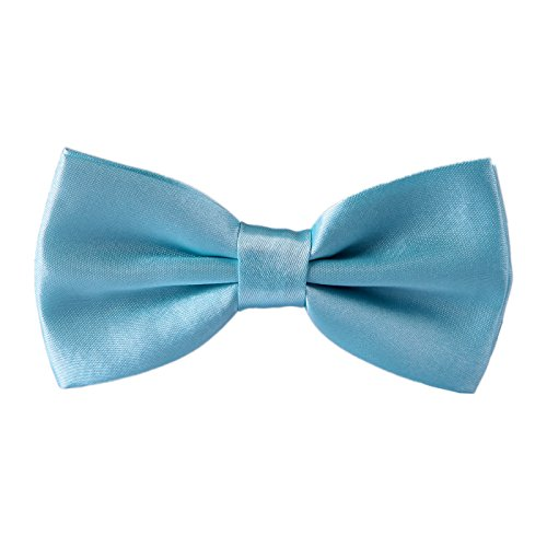 HDE Pre-tied Bowtie Adjustable Satin Polyester Bow Tie for Tuxedo Wedding Party and Other Occasions