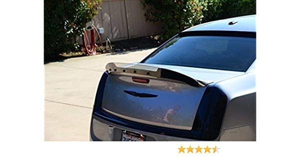 Painted Factory Style Spoiler fits the Chrysler 300 518 Black PX8 with 3M tape included