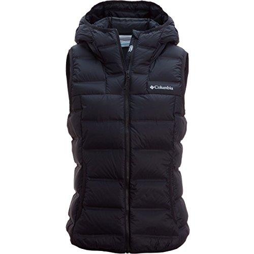 Columbia Women's Explorer Falls Hooded Vest Black X-Small