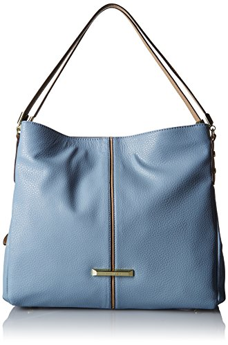 Anne Klein Kick Start Póster de tamaño grande 4 Hobo bolsa Azul/Natural (Ocean Blue - Natural)