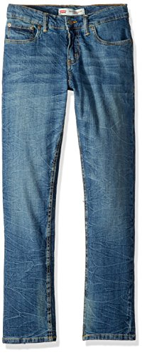 - Levi's Big Boy's 502 Regular Taper Jeans Pants, washed up, 18