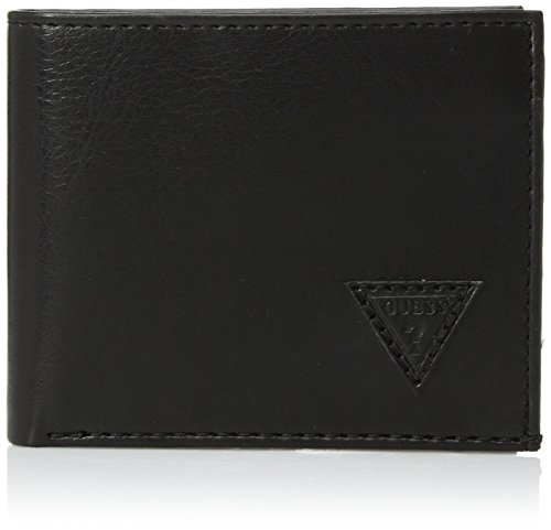 Guess Men's Passcase Wallet, black, One (Guess Slip)
