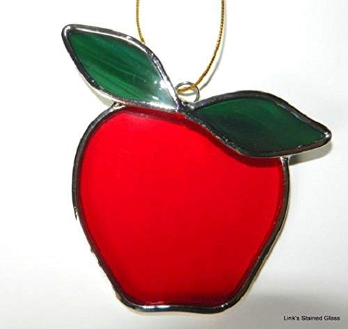 Stained Glass Apple Sun ()