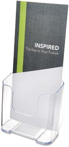 [해외]Deflect-o Leaflet Size Rigid Literature Rack - 7.75amp; x 4.37amp; x 3.25amp; - 1 Pocket(s) - Plastic - Clear / Deflect-o Leaflet Size Rigid Literature Rack - 7.75amp; x 4.37amp; x 3.25amp; - 1 Pocket(s) - Plastic - Clear