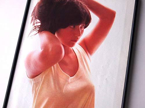 額装宮崎美子乳首セクシー巨乳80年代昭和アートポスター写真集カタログカレンダーミノルタ