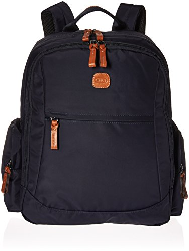 Bric's X-Bag/x-Travel 2.0 Nomad Laptop|Tablet Business Backpack, Navy, One Size