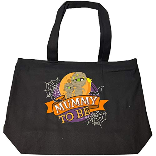 (Funny Halloween Mummy To Be Costume Idea - Tote Bag With)