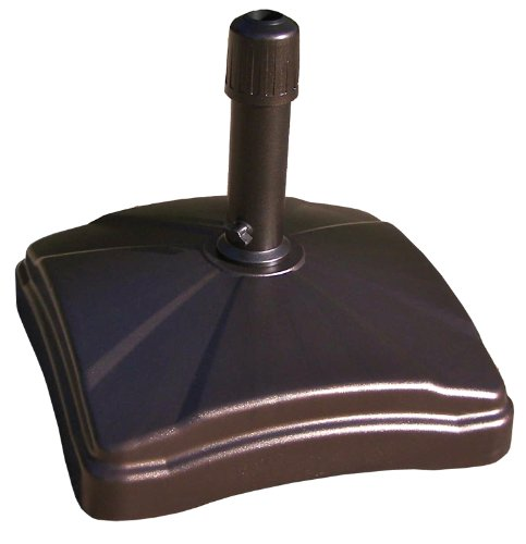 Shademobile Rolling Umbrella Base, Bronze (Rolling Shades For Patio)