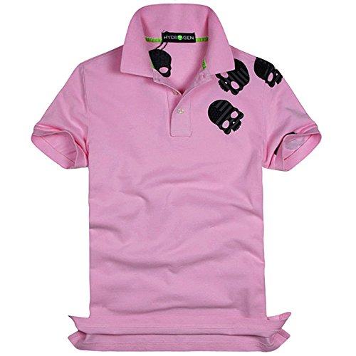 ハイドロゲン HYDROGEN ポロシャツ 半袖 メンズ カジュアル トップス インナー スポーツ ゴルフSKULL POLO-SHIRT