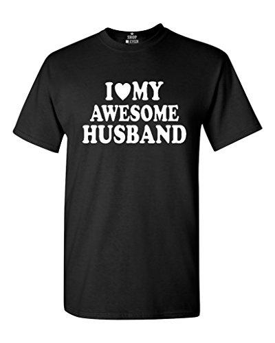 Shop4Ever I Heart My Awesome Husband T-shirt