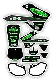 FMF Exhaust Graphic Kit fits 99-02 Kawasaki Kx125