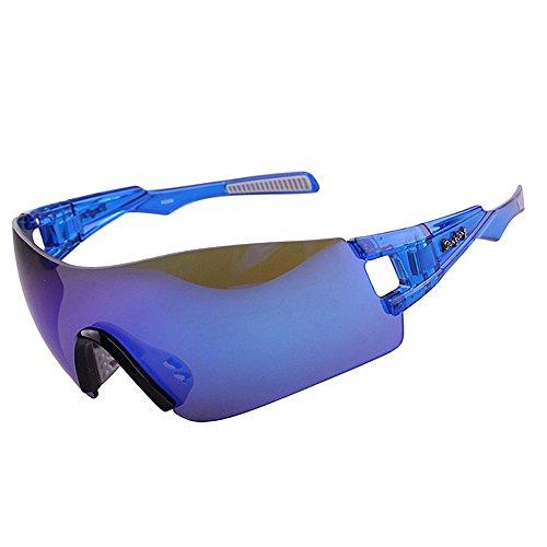 Color Brillante Hombre Vidrios Sol Aire Azul Gafas Opcional de Azul Sin Liviano Película Que Al Deportivo para Los Libre LBY 5 Colores La Espejo De Marco De HD Monta q8nZxxF4w