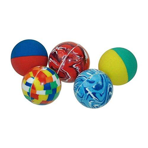 Infini Jouet - Lot de 12 Balles Rebondissantes
