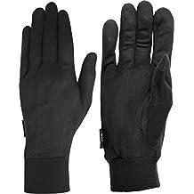 Auclair Men's Silk Liner Texting Winter Gloves