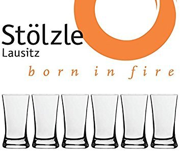Stölzle Lausitz Crystal Barware Shot Glasses, 1.5 Ounce, Set of 6 Stolzle