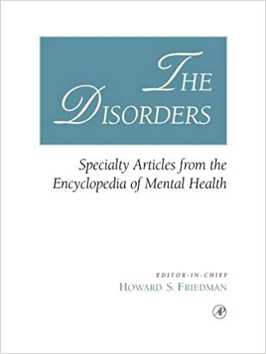 The Disorders: Specialty Articles from the Encyclopedia of