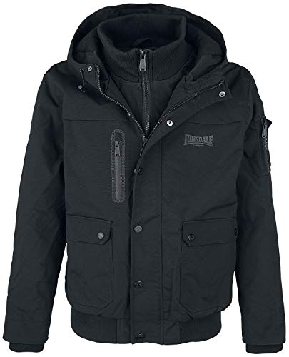 Lonsdale Negro Lonsdale Lonsdale Hillbrae Jacket Lonsdale Hillbrae Jacket Negro Hillbrae Jacket Negro Jacket Lonsdale Negro Jacket Hillbrae AAwrT1