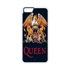 "Custom Queen Cover Case, Custom Hard Back Phone Case for iPhone6 Plus 5.5"" Queen"