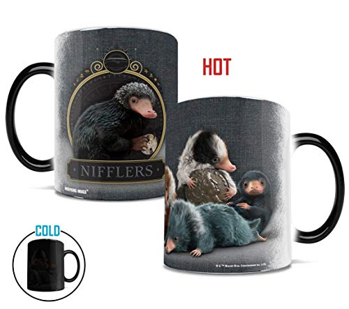 Fantastic Beasts: The Crimes of Grindelwald - Coin Thief – Mugs Heat Sensitive Mug – Ceramic Color Changing Heat Reveal Coffee Tea ()