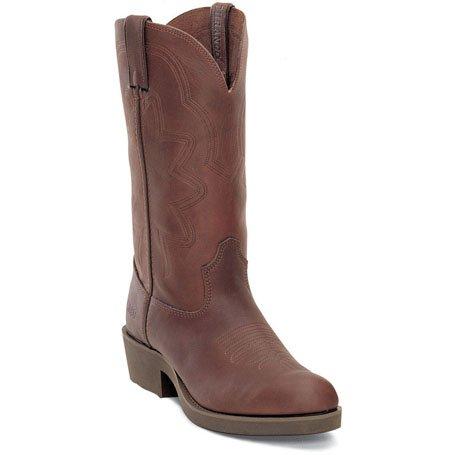 Durango Mens 12 Farm N Ranch Comfort Core SPR Brown Western Boot-FR104 Up8gsrkLq