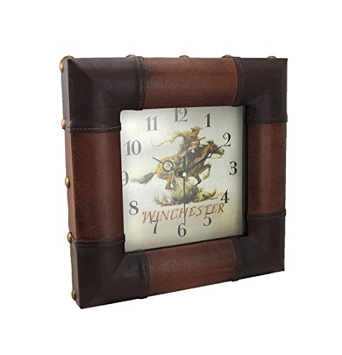 Rivers Edge Home Decor 12 X 12 Inch Winchester Rider Clock Buy