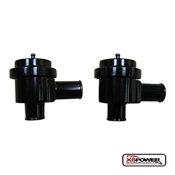 xs-power aluminio válvula de derivación para Turbo Saab, Audi, Porsche, VW- Válvula X negro: Amazon.es: Coche y moto