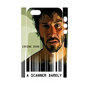TOSOUL Custom painting A Scanner Darkly Phone 3D Case For iPhone 5,5S [Pattern-3]