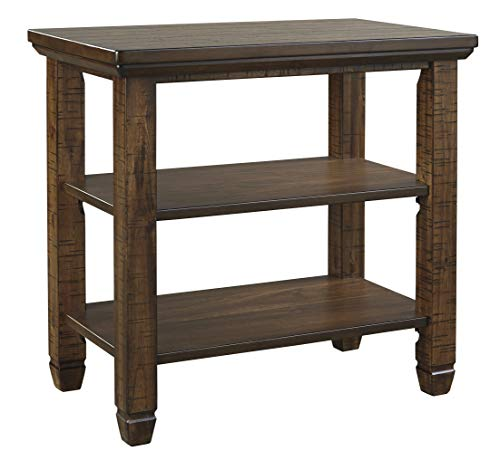 Signature Design by Ashley – Royard Casual Chairside End Table, Brown
