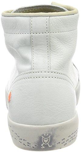 Donna a Kip448sof Softinos Collo Smooth Bianco Alto Sneaker nqOC7UxCw
