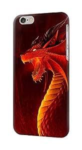 S0526 Red Dragon Case Cover for IPHONE 5C WANGJING JINDA