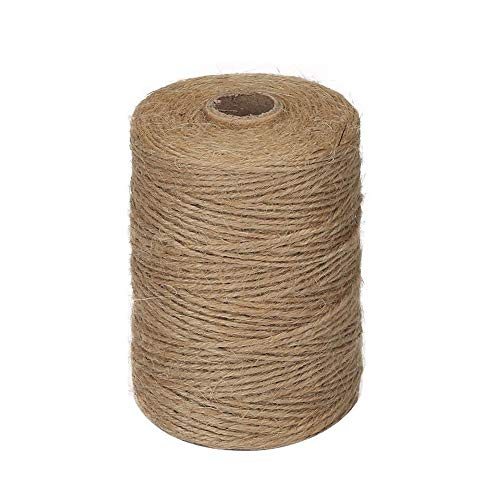 (Jute Sack - 2mm Jute Rope Packing Bag Diy Bundling Camping Strong Vintage Brown Natural Thick Gardening - Durable Tote Braid Bags Twine Pouch Rubber Nylon Easter Round Thick 10mm Jute Linen Sma)