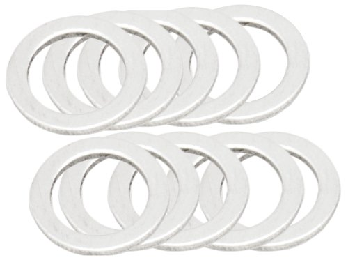 Bolt Motorcycle Hardware (DPWM10.145-10) M10 x 14.5mm Banjo Bolt Crush Washer, (Pack of 10)